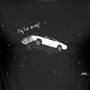 flying car - Men's Slim Fit T-Shirt