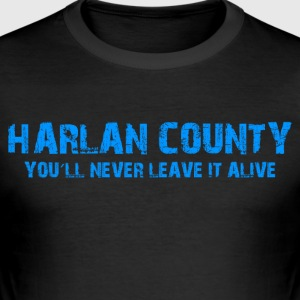 "Shirt ""Harlan County"" - Slim Fit T-skjorte for menn"