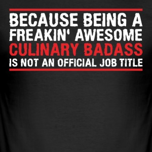 culinaire Badass - slim fit T-shirt