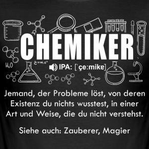 chemicus Woordenboek - slim fit T-shirt