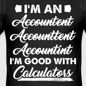 Accountant - Men's Slim Fit T-Shirt
