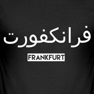 Frankfurt - Slim Fit T-shirt herr