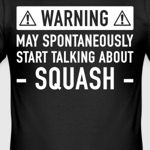 Grappig Squash Cadeau Idee - slim fit T-shirt