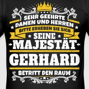 His Majesty Gerhard - Men's Slim Fit T-Shirt
