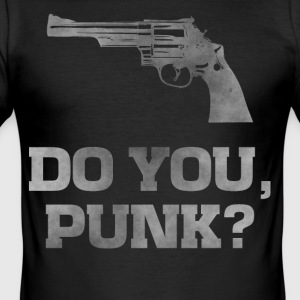 Revolver 29, do you punk dirty guns t-shirt - Men's Slim Fit T-Shirt