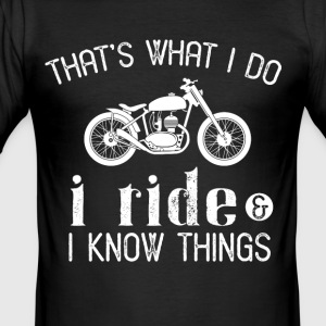 Biker - slim fit T-shirt