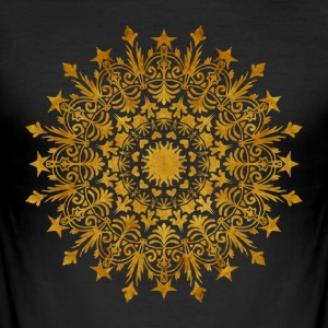 "Mandala - ""The Crown"" - Männer Slim Fit T-Shirt"