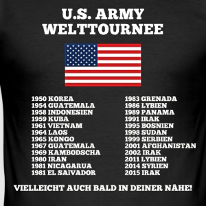 US Army World Tour - Men's Slim Fit T-Shirt