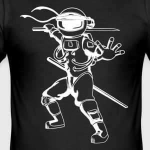 Astro Ninja - Slim Fit T-shirt herr