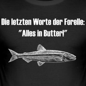Forelle - Männer Slim Fit T-Shirt