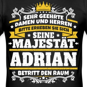 His Majesty Adrian - Men's Slim Fit T-Shirt