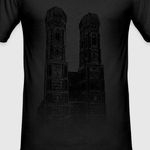 Around The World: Frauenkirche - München - Männer Slim Fit T-Shirt