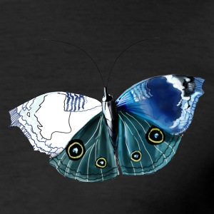 Schmetterling . Butterfly - Männer Slim Fit T-Shirt