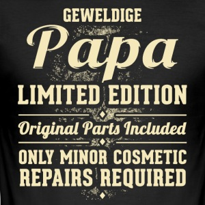 Geweldige Papa - slim fit T-shirt