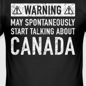 Canada Original Gift: Order Here - Men's Slim Fit T-Shirt