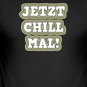 Nu chill gånger - Slim Fit T-shirt herr
