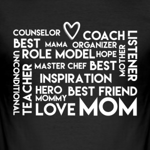 LoveMom - Mothersday - Men's Slim Fit T-Shirt