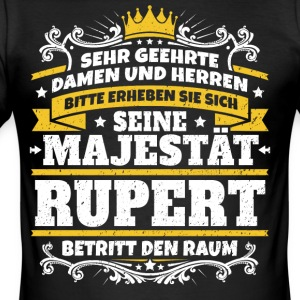 His Majesty Rupert - Men's Slim Fit T-Shirt