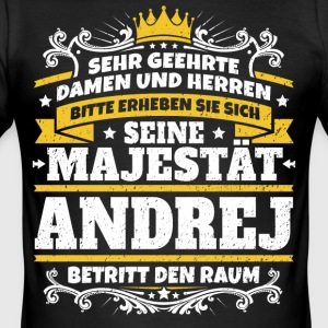 Zijne Majesteit Andrej - slim fit T-shirt