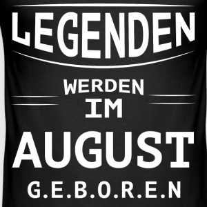 AUGUST - Männer Slim Fit T-Shirt
