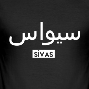 Sivas - Men's Slim Fit T-Shirt
