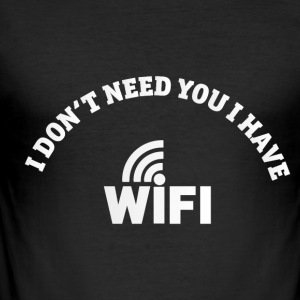 WIFI - slim fit T-shirt