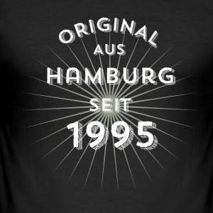 Original from Hamburg since 1995 - Men's Slim Fit T-Shirt