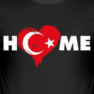 Home love Turkey - Men's Slim Fit T-Shirt