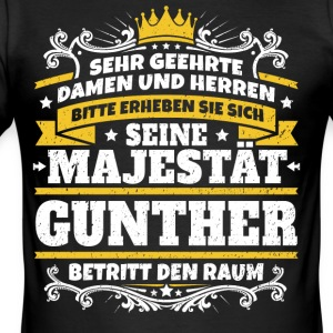 Seine Majestät Gunther - Männer Slim Fit T-Shirt