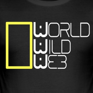 Wereld Wild Web - slim fit T-shirt