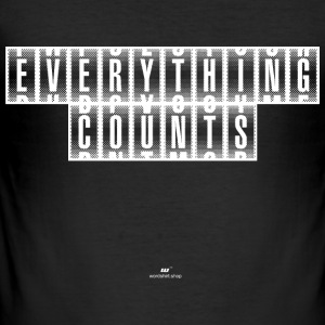 Everything Counts wit - slim fit T-shirt