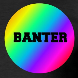 Liten Rainbow Banter Badge - Slim Fit T-shirt herr