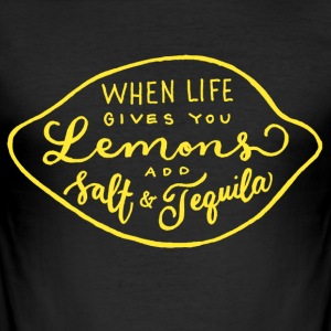 LEMONS T-SHIRT HERR - Slim Fit T-shirt herr