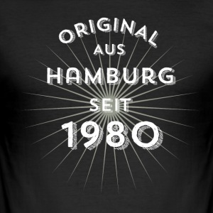 Original from Hamburg since 1980 - Men's Slim Fit T-Shirt