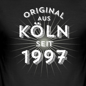 Original fra Köln siden 1997 - Herre Slim Fit T-Shirt