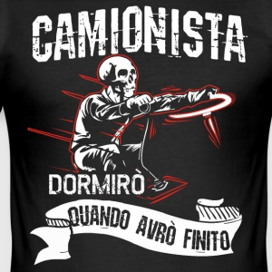 camionisti - Men's Slim Fit T-Shirt