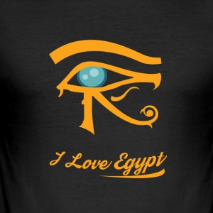 i love Egypt - Männer Slim Fit T-Shirt
