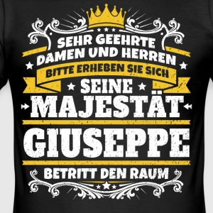 His Majesty Giuseppe - Herre Slim Fit T-Shirt