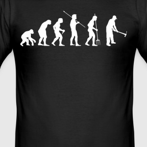 EVOLUTION FARMER - Slim Fit T-skjorte for menn