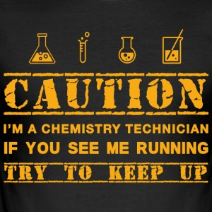chemical engineer - Men's Slim Fit T-Shirt