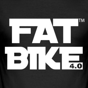 FATBIKE - MAY THE GRIP BE WITH YOU 3 - Männer Slim Fit T-Shirt