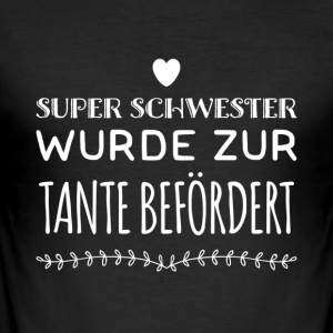 Tante Design - Männer Slim Fit T-Shirt