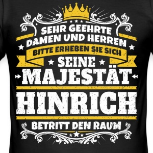 His Majesty Hinrich - Men's Slim Fit T-Shirt