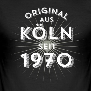 Original fra Köln siden 1970 - Herre Slim Fit T-Shirt