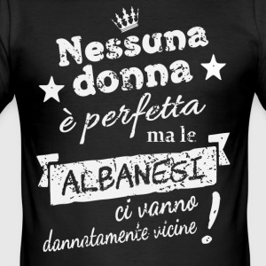 DonnaAlbanesi - Herre Slim Fit T-Shirt