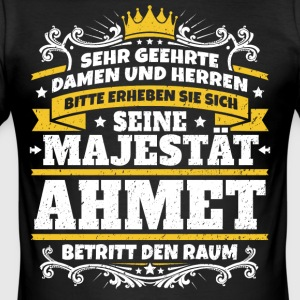 Hans Majestæt Ahmet - Herre Slim Fit T-Shirt