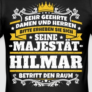 Hans Majestät Hilmar - Slim Fit T-shirt herr