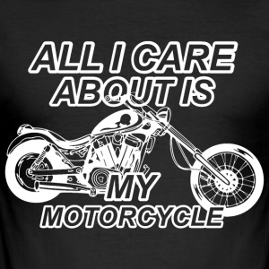 Motorcycle lovers hobby - Men's Slim Fit T-Shirt