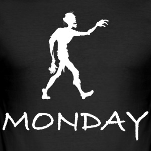 MONDAY - Men's Slim Fit T-Shirt