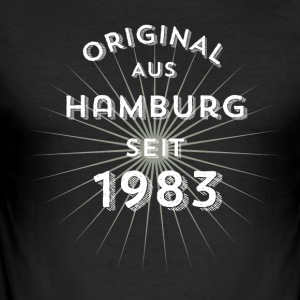 Original from Hamburg since 1983 - Men's Slim Fit T-Shirt
